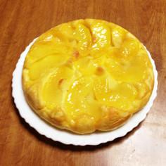 超簡単!HMでリンゴのフライパンケーキ