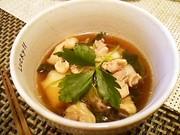 関東の醤油味★めんつゆだけで簡単お雑煮の写真