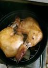 ダッチオーブンでローストチキン