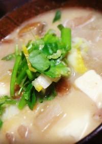 【郷土料理】山形の納豆汁
