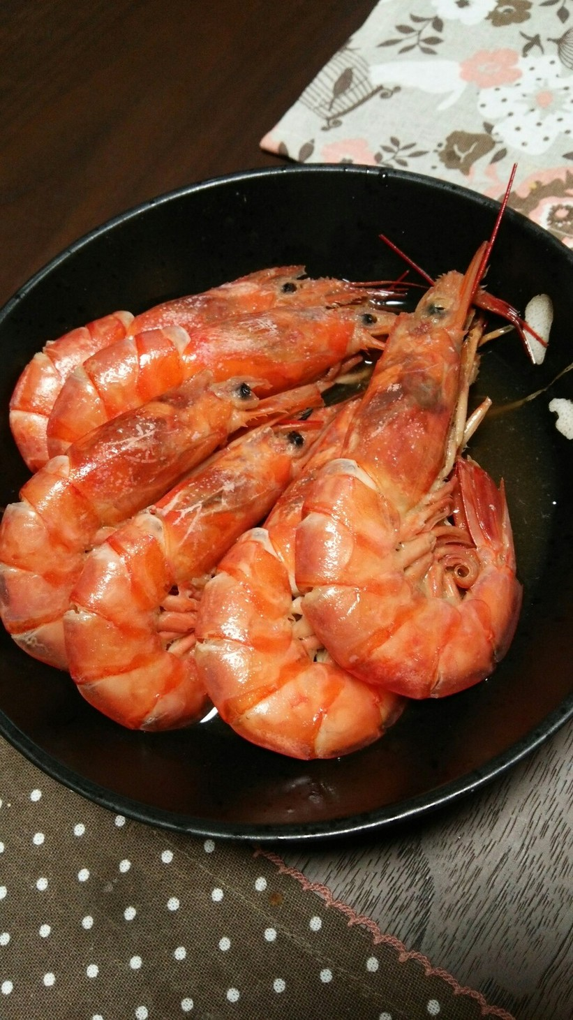 海老のつや煮