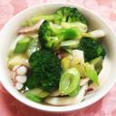 イカとブロッコリーの中華風塩だれ炒め