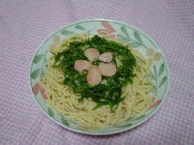 シンプルたらこスパゲッティ