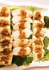 パーティーに!鶏むね肉と豆腐のサラダ