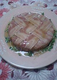 白菜とひき肉の重ね煮・ケーキ風★