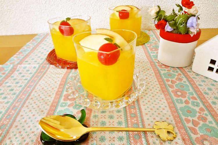 ジュース ゼリー オレンジ