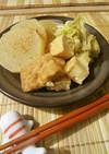 大根と厚揚げ×白菜のうま煮