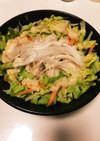 メモ>>鶏肉そばサラダ