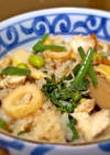 椎茸香る簡単炊き込みご飯