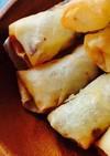 浜納豆チーズ春巻き