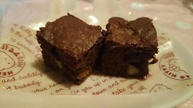 しっとり濃厚チョコレートブラウニー