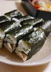 簡単豪華☆さばの三段押し寿司