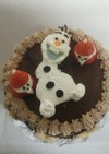 我が家のクリスマスケーキ♪