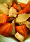 鶏と大根とにんじんの煮物