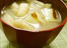 冬☆旬♪コロころ香ばし白葱のお味噌汁