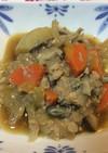 鮭缶とポテトの炒め煮
