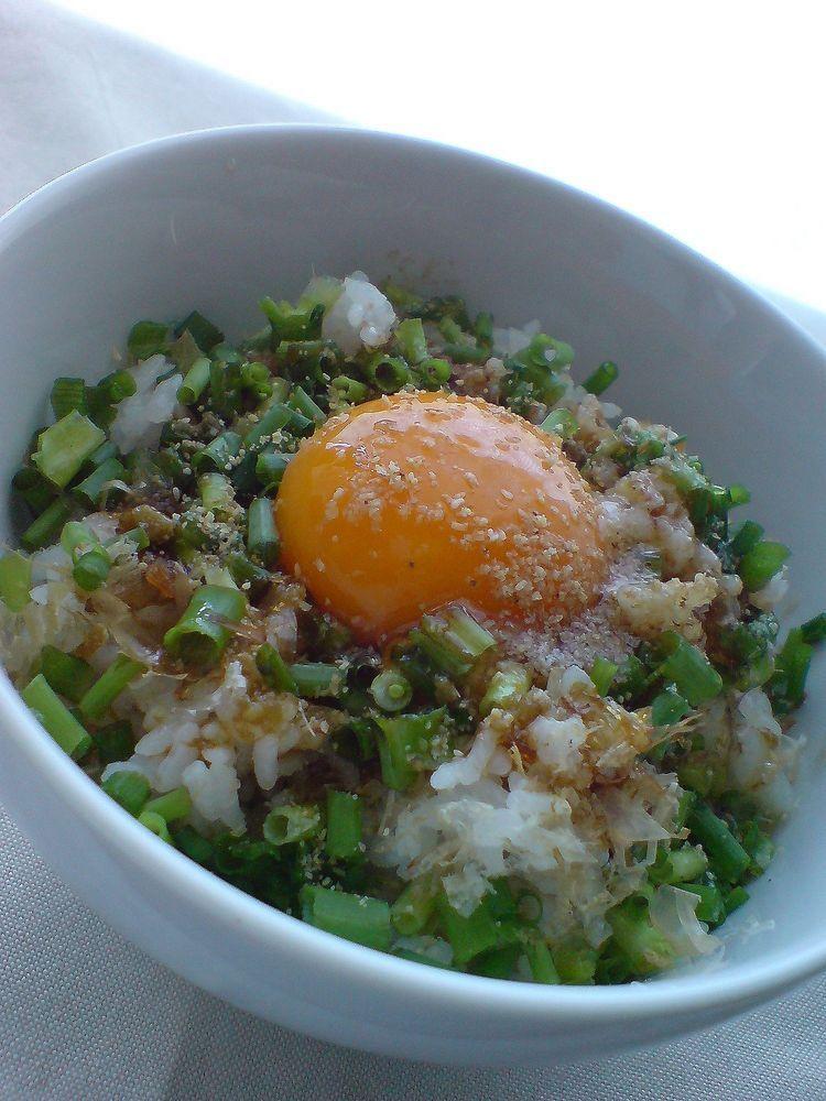 柚子胡椒de卵かけご飯♪