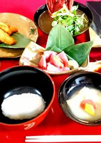 日本の最高のおもてなし☆懐石料理を自宅で