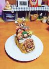 ワンピース キャラケーキ