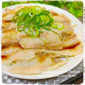 レンジで☆白菜&豚バラのレンジ蒸し♬
