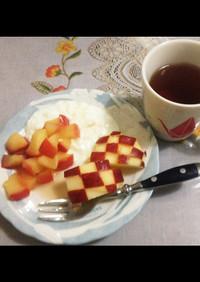 煮りんご デザート