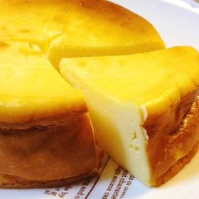 ミキサーでガー!簡単ベイクドチーズケーキ