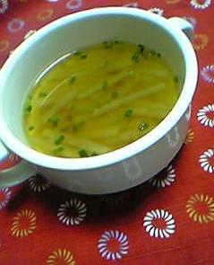 蜂蜜&生姜で旨みがギュ~っ!!大根スープ