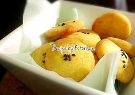♫HMとポリ袋で♡素朴なさつま芋クッキー