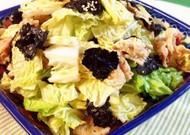 白菜と豚肉の韓国風サラダ
