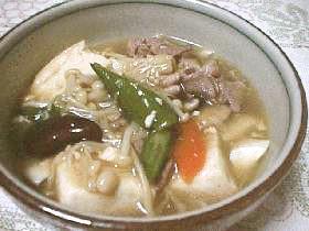 冷蔵庫すっきり!豆腐のうま煮