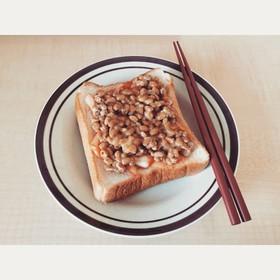 ☼ 美味しい納豆キムチ食パン ☼ b...
