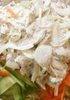 鶏ささみの玉ねぎマヨサラダ