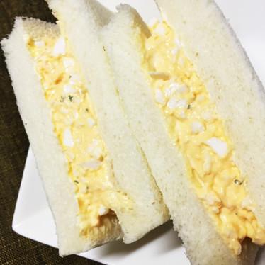 サンドイッチ!簡単めちゃ旨!卵サンド