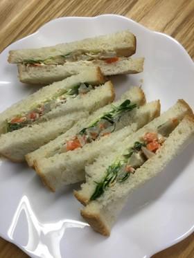 リメイク・ごぼうサラダのサンドイッチ