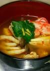 トムヤムスープでタイ風お雑煮