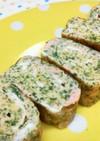お弁当に。朝食に。たらこと青海苔の卵焼き