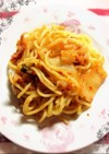 キムチと麺だけ❤︎ 明太子でも可❤︎