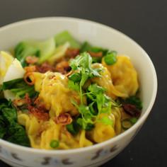 中華ワンタン麺【父のレシピ】