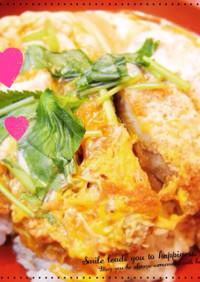 とろとろ卵のカツ丼♪簡単絶品タレ