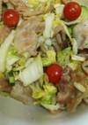 浅漬けの素で旨っ♪白菜と豚バラのマリネ風
