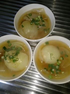 まるごと玉ねぎスープ♪