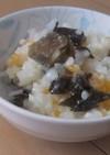 ホットヨーグルトおかゆ(雑炊)