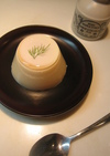 お豆腐のパンナコッタ風