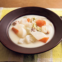大根と白菜のミルクシチュー