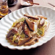 白菜と豚のくったり蒸し煮