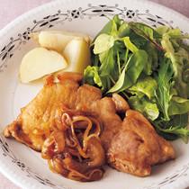 豚肉のウスター風味ソテー