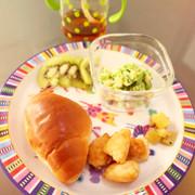 *離乳食完了期*豆腐と鶏ひき肉のナゲットの写真