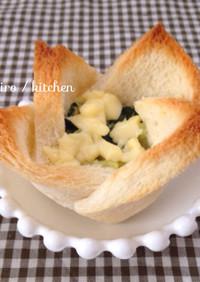 離乳食完了期〜♡食パンカップトースト