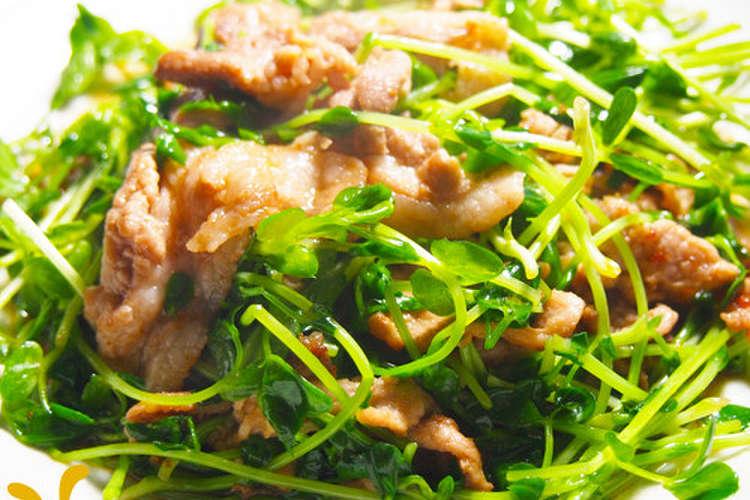 こま 苗 レシピ 豆 豚