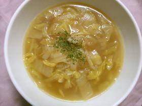 簡単 旨い! 白菜 玉ねぎ バタースープ